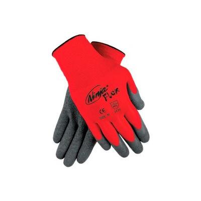 Ninja Flex Latex Coated Palm Gloves, MEMPHIS GLOVE N9680L, 1-Pair - Pkg Qty 12