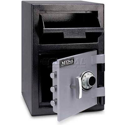 "Mesa Safe B-Rate Depository Safe MFL2014C Front Loading, Manual Combo Lock, 14""W x 14""D x 20-1/4""H"