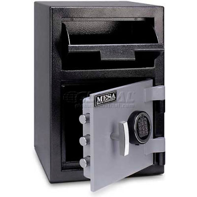 "Mesa Safe B-Rate Depository Safe MFL2014E Front Loading, Digital Lock, 14""W x 14""D x 20-1/4""H"