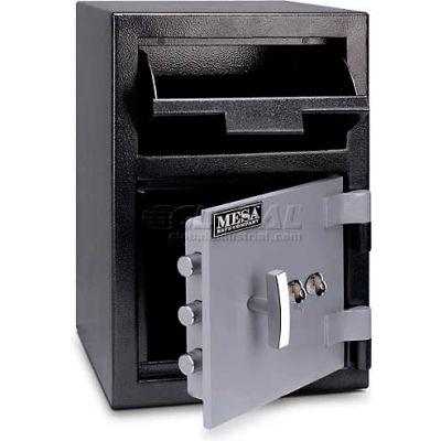 "Mesa Safe B-Rate Depository Safe MFL2014K Front Loading, Dual Key Lock, 14""W x 14""D x 20-1/4""H"