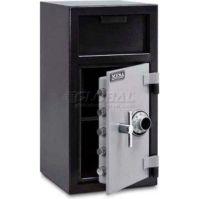 "Mesa Safe B-Rate Depository Safe MFL2714C Front Loading, Manual Combo Lock, 14""W x 14""D x 27-1/4""H"