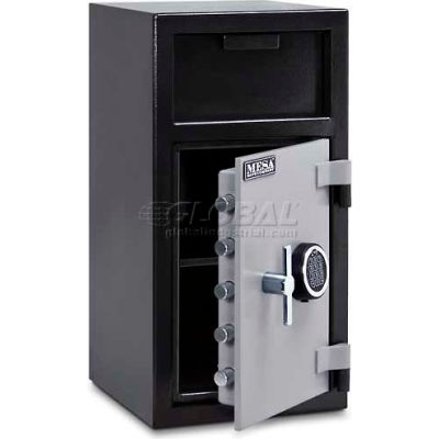 "Mesa Safe B-Rate Depository Safe MFL2714E Front Loading, Digital Lock, 14""W x 14""D x 27-1/4""H"