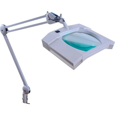 Magnifying Task Lamp, White, 3-Diopter, 36 Ultra Bright LED's