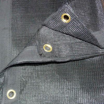 Xtarps, MN-MS70-B0608, 70% Shade Cloth, Shade Tarp, 6'W x 8'L, Black