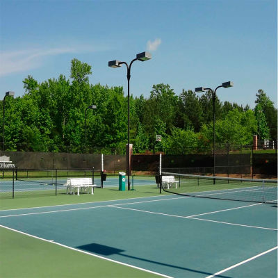 Xtarps, MN-TM-B0810, Tennis Court Wind Screen, 8'W x 10'L, Black