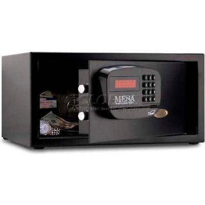 "Mesa Safe Hotel & Residential Electronic Security MHRC916E-BLK-KA Keyed Alike, 18"" x 15"" x 9"" Black"