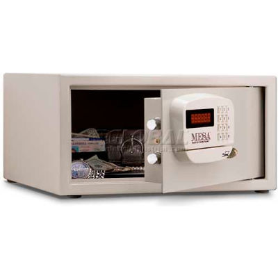 Mesa Safe Hotel & Residential Electronic Security MHRC916E-WHT Keyed Differently, 18 x 15 x 9, White