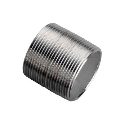 Ss 304/304l Schedule 80 Seamless Extra Heavy Pipe Nipple 1-1/2xclose Npt Male - Pkg Qty 12
