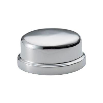 Chrome Plated Brass Pipe Fitting 1/2 Cap Npt Female - Pkg Qty 25