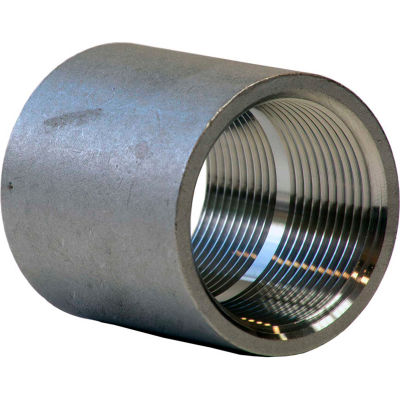 1-1/4 In. 304 Stainless Steel Coupling - FNPT - Class 150 - 300 PSI - Import