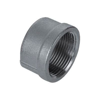 "Iso Ss 304 Cast Pipe Fitting Cap 1/8"" Npt Female - Pkg Qty 125"