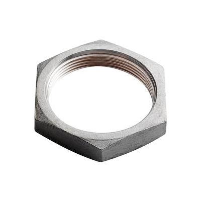 "Iso Ss 304 Cast Pipe Fitting Hex Locknut 1"" Npt Female - Pkg Qty 25"