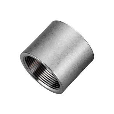 """Iso Ss 316 Cast Pipe Fitting Coupling 1/8"""" Npt Female - Pkg Qty 75"""