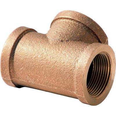 3/4 In. Lead Free Brass Tee - FNPT - 125 PSI - Import