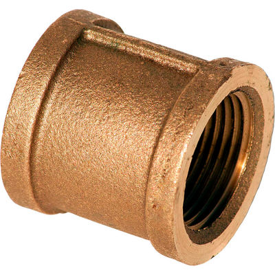 3/4 In. Lead Free Brass Coupling - FNPT - 125 PSI - Import
