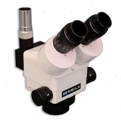 Meiji Techno EMZ-8TRU 0.7X-4.5X Trinocular Zoom Stereo Body, W.D. 93mm with Top Light Port