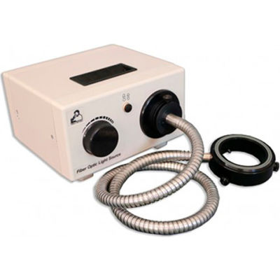 Meiji Techno FT192 Annular Fiber Optic Illuminator, 115V AC