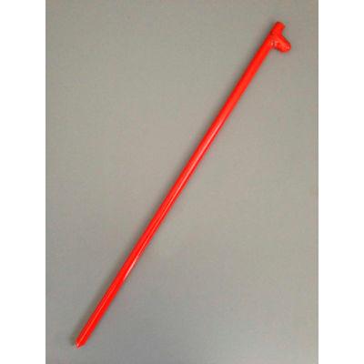 "24"" Forged Head Stake, Orange"