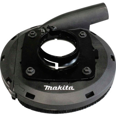 "Makita 195386-6 7"" Dust Extraction Surface Grinding Shroud Designed to fit Makita 7 in. grinders"