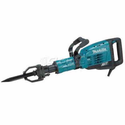 """Makita® HM1317CB 42 lb AVT Demolition Hammer, 1-1/8"""" Hex, Case w/Wheels"""