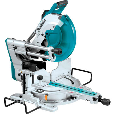 "Makita® LS1219L, 12"" Dual‑Bevel Sliding Compound Miter Saw with Laser"