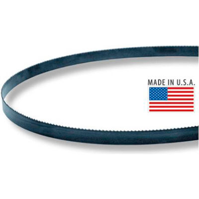"M.K. Morse 1755931570BX1 - 13' 1"" x 1 x 0.035 Carbon Wood Mill Flexible Back 1.3 Hook Band Saw Blade"