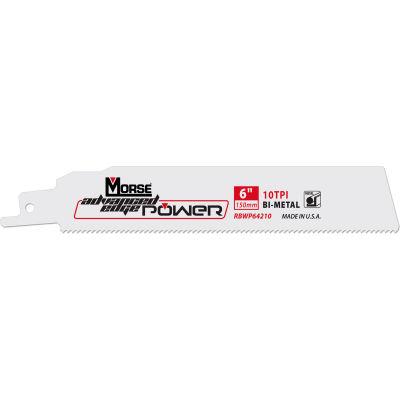 "M.K. Morse 392174 Advanced Edge Power® Bi-Metal Reciprocating Saw Blades 12""L x 1""W 18 TPI 25PK"