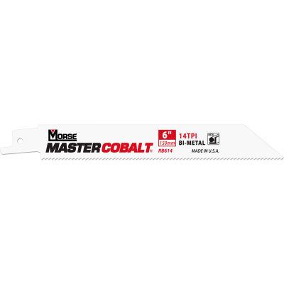 "M.K. Morse 398480 Master Cobalt® Metal Reciprocating Saw Blades 10""L x 3/4""W, 18 TPI, 50 PK"