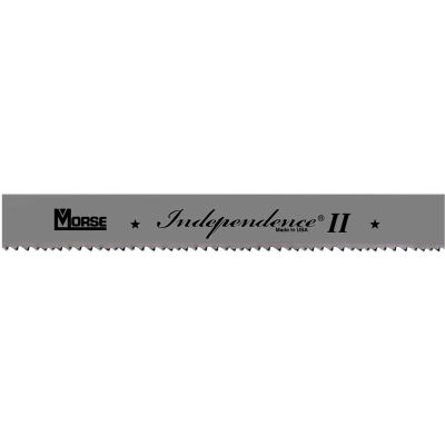 "M.K. Morse 5555461620BX1 - 13' 6"" x 1"" x 0.035 Bimetal Independence II 4/6 Band Saw Blade"