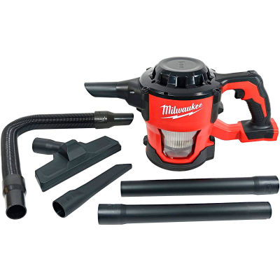Milwaukee® M18™ Cordless Compact Vacuum w/Hose Attachments and Accessories (Tool-Only)