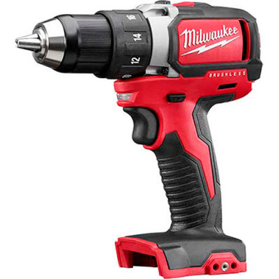 "Milwaukee 2801-20 M18™ 1/2"" Compact Brushless Drill/Driver Bare Tool"