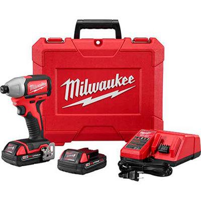 """Milwaukee 2750-22CT M18™ 1/4"""" Hex Brushless Impact Driver Kit"""