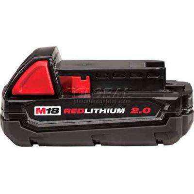 Milwaukee® 48-11-1820 18V Li-Ion M18 Battery 2Ah Compact