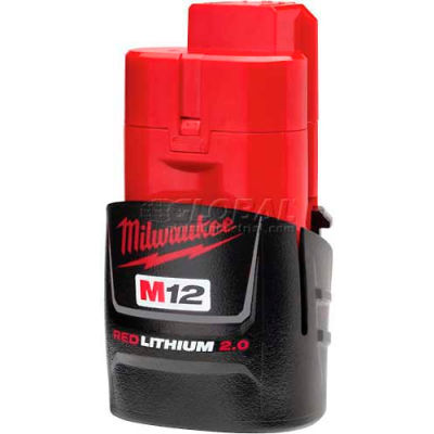 Milwaukee® 48-11-2420 12V Li-Ion M12 Battery 2Ah Compact