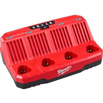 Milwaukee® 48-59-1204 M12™ Four Bay Sequential Charger