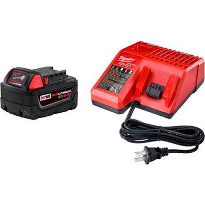 Milwaukee® 48-59-1850 M18™ Redlithium™ XC5.0 Starter Kit