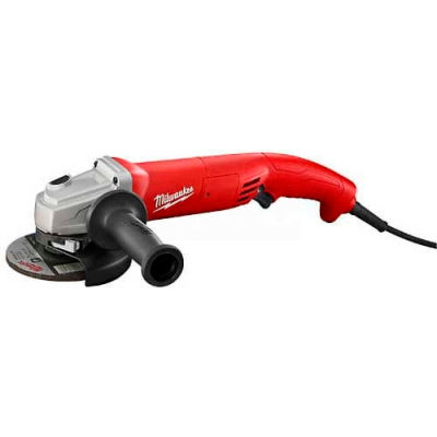 "Milwaukee® 6121-31A 5"" Trigger Grip, Non-Lock AC/DC Small Angle Grinder"