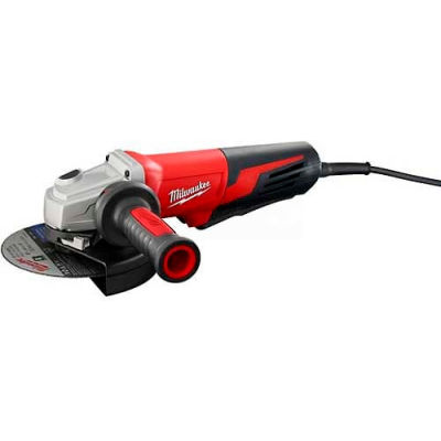 "Milwaukee® 6161-31 6"" Paddle Non-Lock Small Angle Grinder"