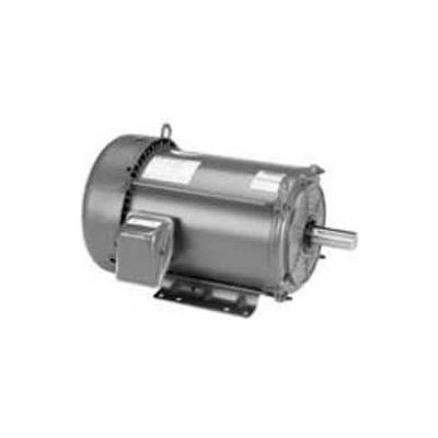 Marathon Motors Premium Efficiency Motor, E2002, 1HP, 1200RPM, 208-230/460V, 3PH, 145TC FR, TEFC