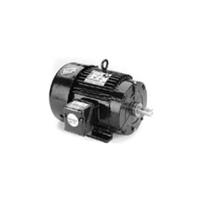 Marathon Motors Premium Efficiency Motor, E229, 125HP, 3600RPM, 460V, 3PH, 444TS FR, TEFC