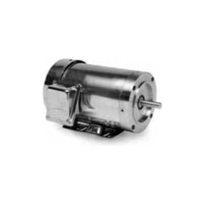 Marathon Motors PowerWash™ Washdown Motor, N431, 1/2HP, 208-230/460V, 1800RPM, 3PH, TENV