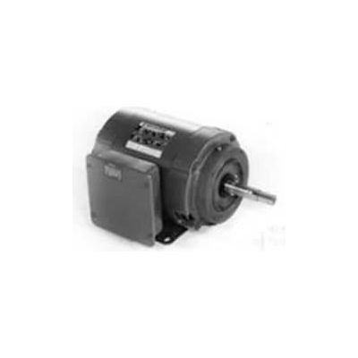 Marathon Motors Closed-Coupled Pump Motor, Z407A, 3HP, 115/230V, 1800RPM, 1PH, 184JM FR, DP