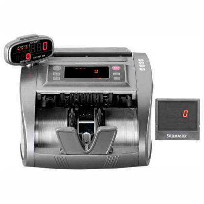 MMF STEELMASTER 4820 Advanced Currency Counter with Counterfeit Detection 2004820C8 - 200 Bill Cap.