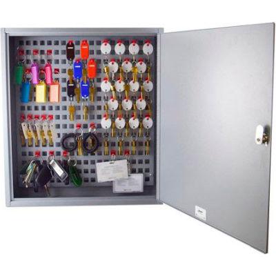 MMF STEELMASTER® Flex™ 90 Key Cabinet 2012F09001 Disc Tumbler Lock - Gray
