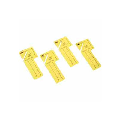 """MMF """"Out Key"""" Control Tags 201300212 - Yellow, Pack of 24 Tags"""