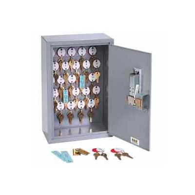 MMF STEELMASTER® Dupli Key#174; 80 Key Cabinet 2016080S01 Simplex Lock, Gray