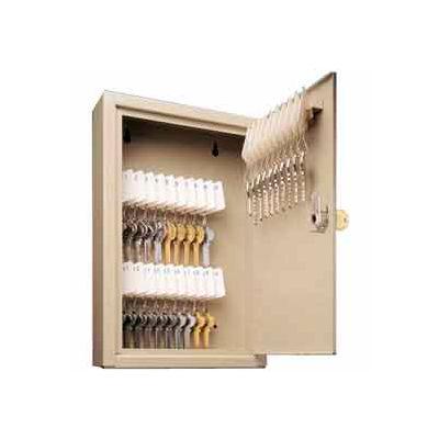 MMF STEELMASTER® Unitag™ 40 Key Cabinet 2019040D03 Dual Control Sand