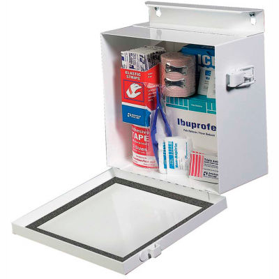 MMF STEELMASTER® Multipurpose Box 201905706 - First Aid or Spill Kit, White