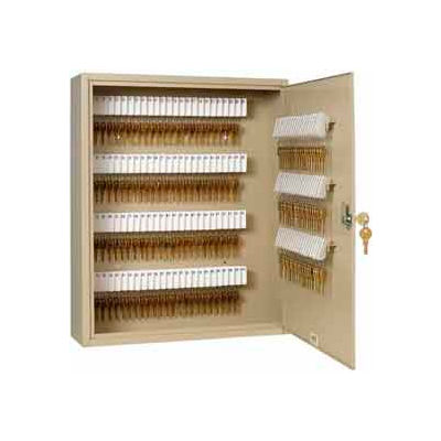 MMF STEELMASTER® Unitag™ 160 Key Cabinet 2019160D03 Dual Control Sand