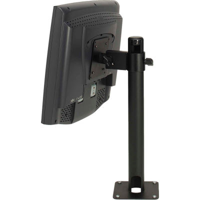 """MMF Fixed Height Wall & Counter Mount 2257611004 - 4"""" Arm - VESA 75/100mm Mounting Plate"""